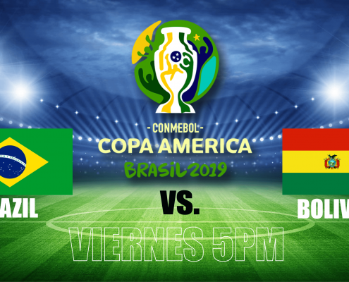 An image of the brazil vs bolivia football match