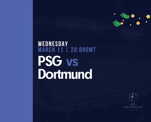 PSG vs Borussia Dortmund - Free Tips for Weds 11th March